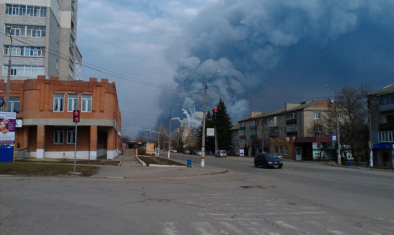 Рванули крупнейшие склады ракетно-артиллерийского вооружения вгосударстве Украина — Под Харьковом диверсия