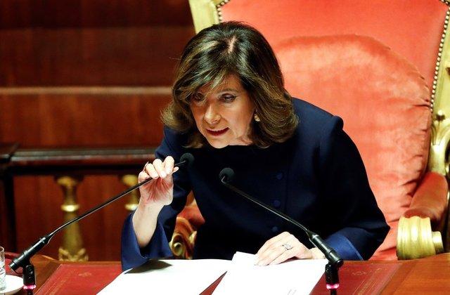 Дамы, вперед: Спикером Сената вИталии впервый раз выбрали женщину