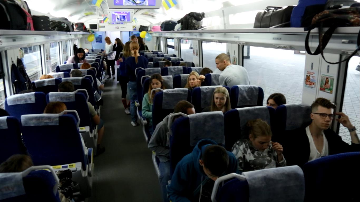 УЗпустила 2-ой поезд Киев— Перемышль