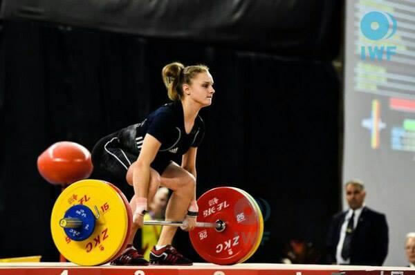 Молодая украинка взяла «серебро» чемпионата мира потяжелой атлетике