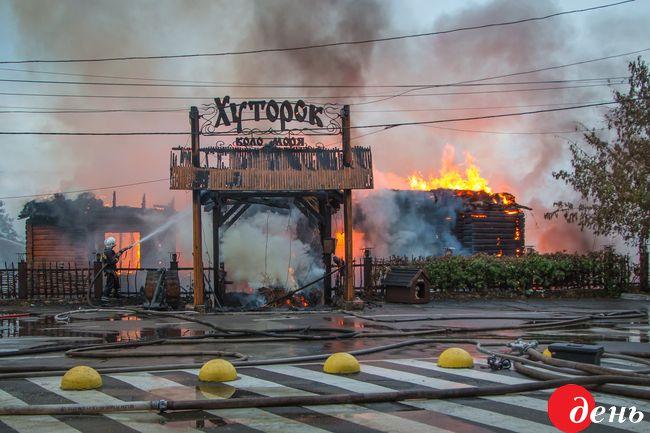 Наодесском береге бушует масштабный пожар: навсе 100% сгорел ресторан