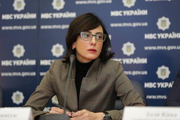 Хатия Деканоидзе сообщила, что уволит все руководство милиции Николаевской области