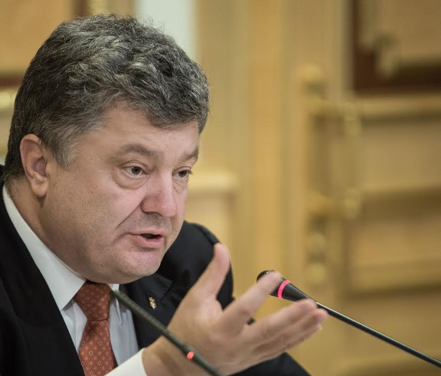 Присутствие российских войск в Сирии напоминает начало аннексии Крыма, - Порошенко