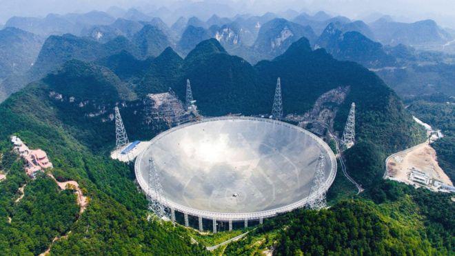 25сентября вКитайской народной республике проведут запуск крупнейшего вмире телескопа FAST