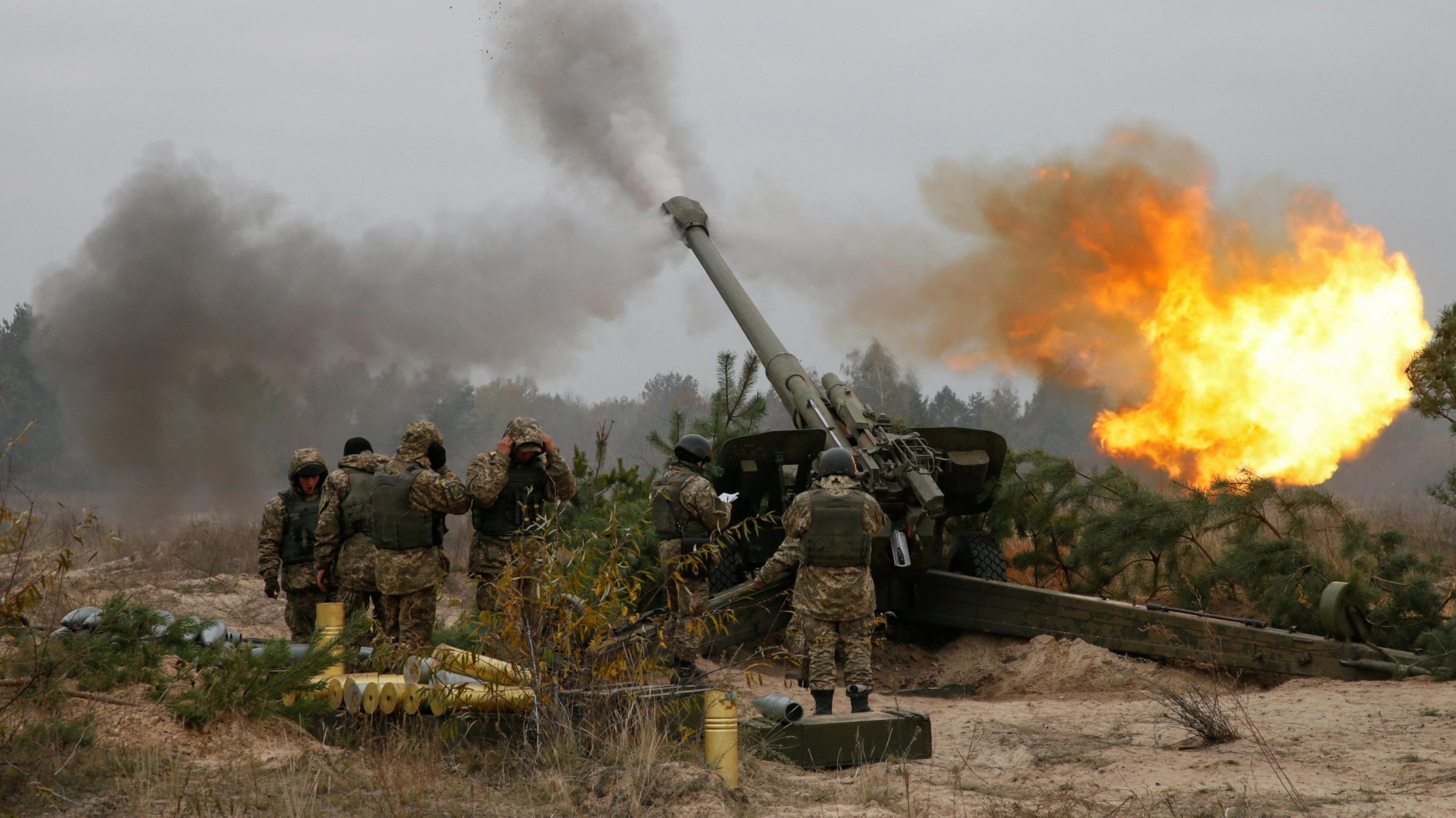 Боевики совершили 11 обстрелов позиций украинских военных наДонбассе— штаб