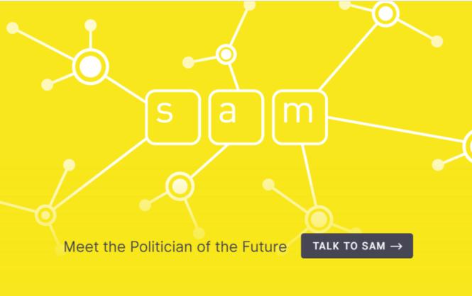 Новозеландец создал виртуального политика для общения сизбирателями