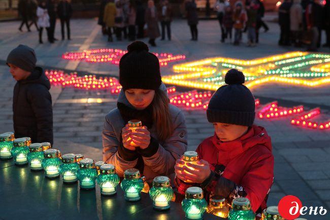 ВВильнюсе почтили 85 годовщину Голодомора
