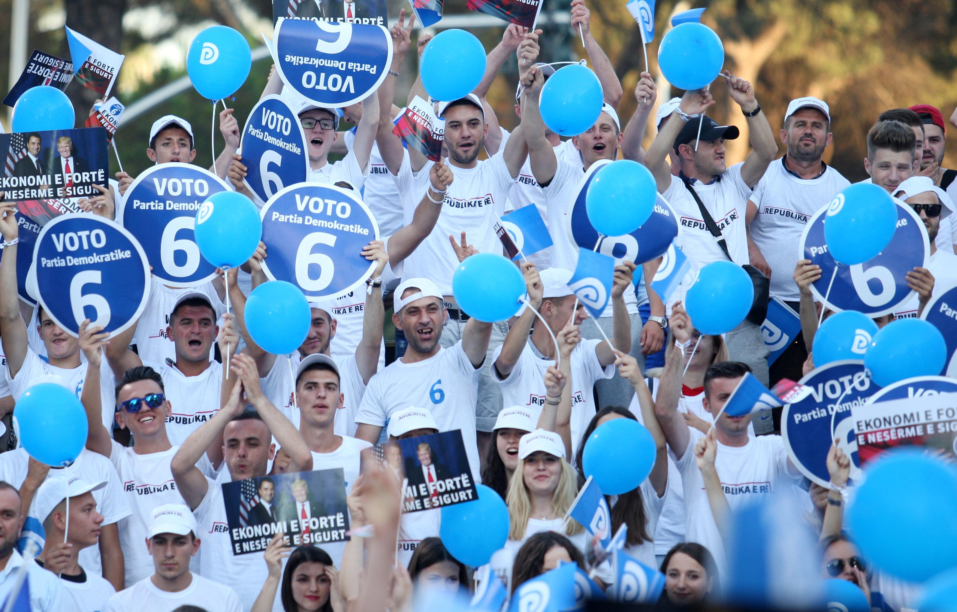 Навыборах вАлбании прогнозируют победу правящей партии