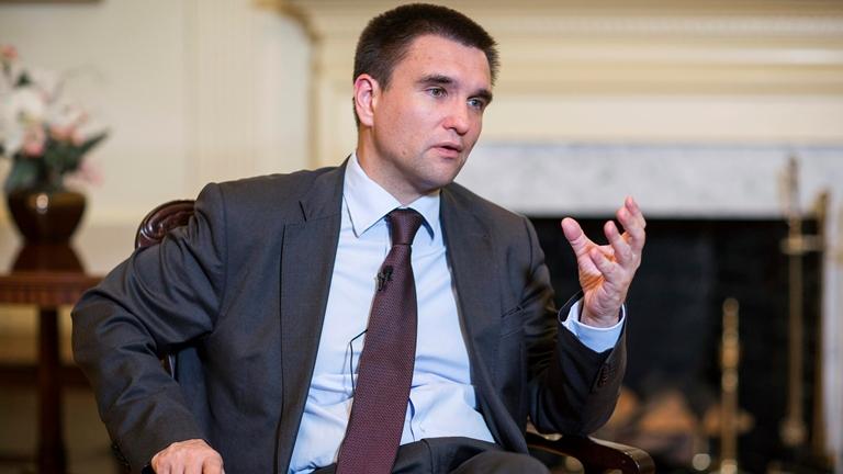 Клімкін: Україна узгодить з міжнародними партнерами резолюцію щодо миротворців наДонбасі