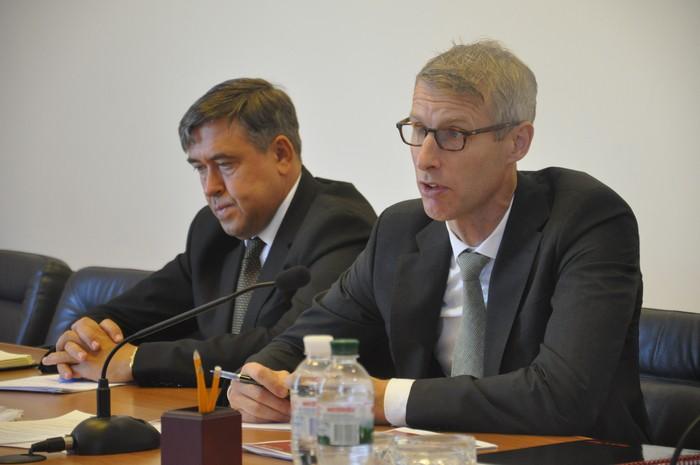 ВМинфине обсудили спредставителем МВФ реформу ГФС