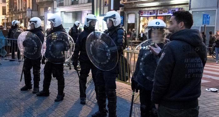 Милиция арестовала 20 участников беспорядков вБрюсселе
