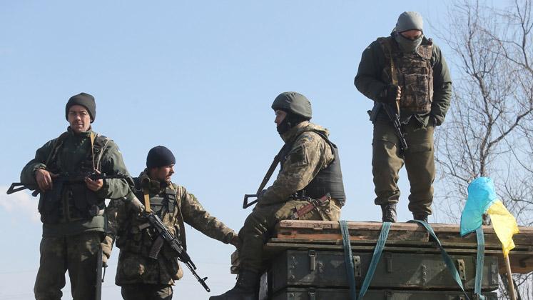 Боевики один раз глубокой ночью обстреляли ВСУ под Каменкой