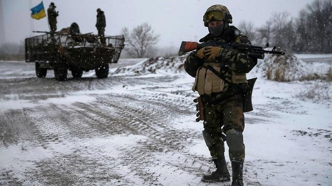 Боевики ведут обстрелы изминометов, ниодин военный непострадал