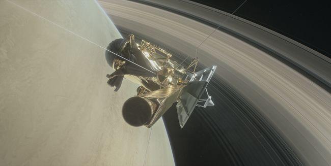 Зонд «Кассини»: Топ-5 видео путешествия корабля-самоубийцы в кольцах Сатурна