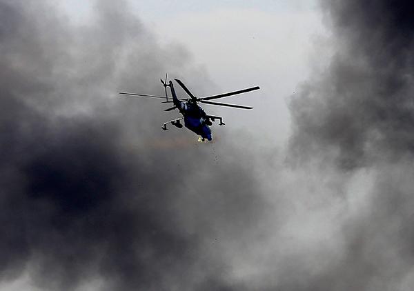 ВСША разбился вертолет, погибли люди