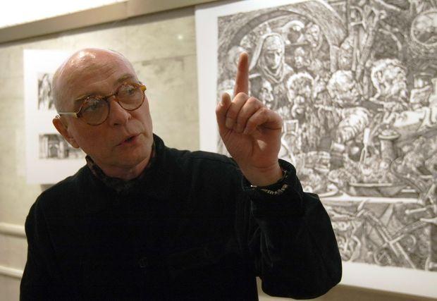 ВКиеве скончался известный украинский художник Сергей Якутович