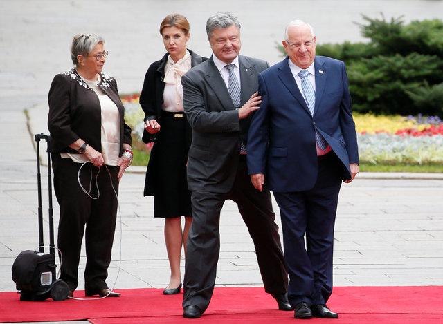Президент Израиля вРаде повторил советский вымысел обОУН— Вятрович