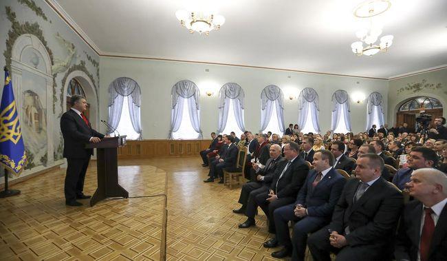 Вгосударстве Украина нет никакой АТО— Порошенко