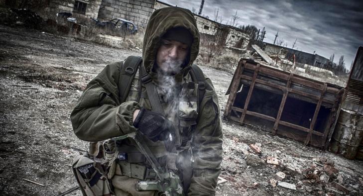 Тяжелая ночь вАТО: боевики избивали из нелегального оружия