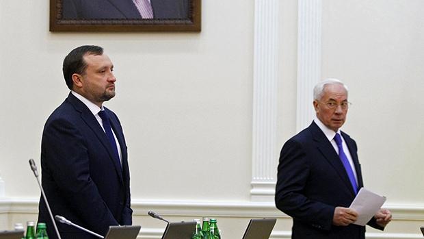 Суд Євросоюзу зняв санкції зАзарова і Арбузова