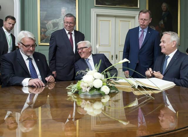 Руководителя «Веймарского треугольника» недовольны реализацией Минских договоров