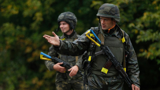 Боевики всамом начале суток 12 раз обстреляли позиции ВСУ