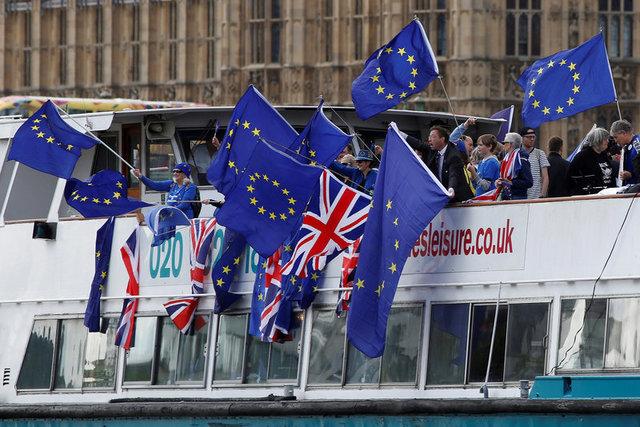ВСоединенном Королевстве Великобритании сообщили охорошем положении страны напереговорах оBrexit