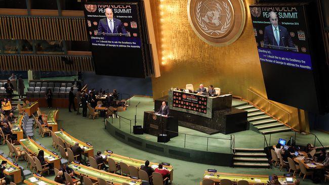 Грузия в ООН призвала Россию вывести войска из Абхазии и Южной Осетии