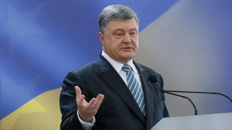 Порошенко подписал закон одопуске иностранных военных вУкраинское государство