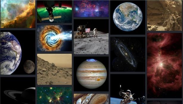 NASA открыло уникальную коллекцию из космических фото