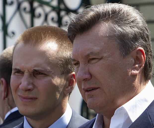 Янукович пожаловался, чтоЕС заморозил ему очень большое количество средств