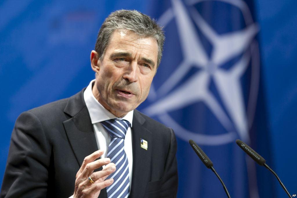 Прежний генеральный секретарь НАТО несомненно поможет Украине сбезопасностью