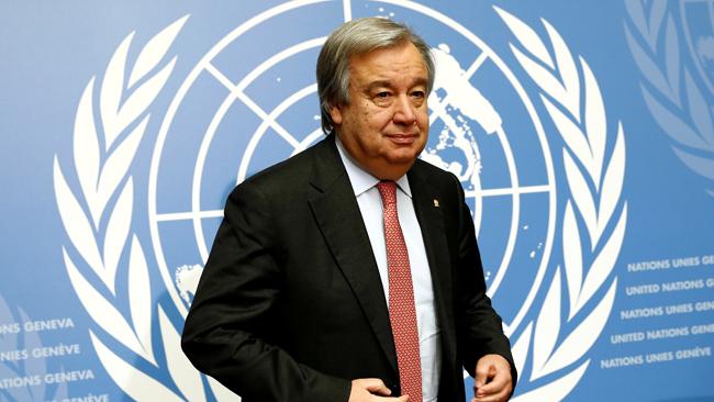 Генеральный секретарь ООН призвал ксоблюдению режима предотвращения огня наДонбассе