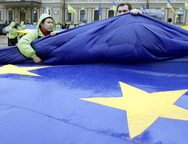 Украина может получить безвиз сЕС вгодовщину Евромайдана