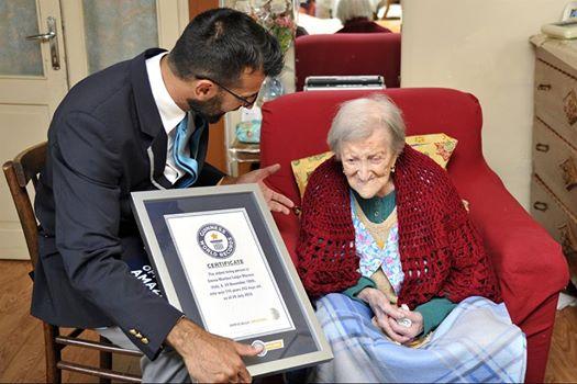 Старейшая женщина вмире отмечает собственный 117-й день рождения