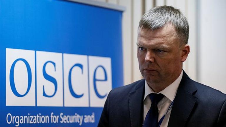 Российская Федерация должна пойти на разговор повозвращению собственных офицеров вСЦКК— ОБСЕ
