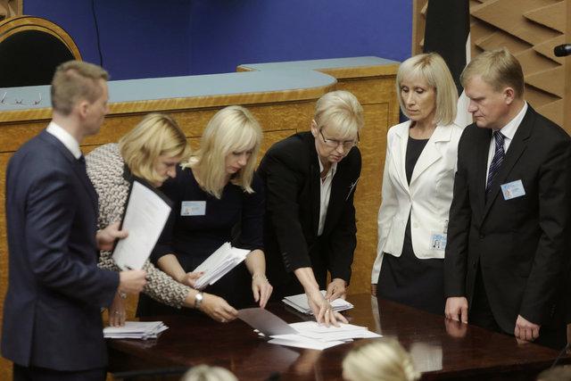 Парламент Эстонии несмог выбрать президента страны