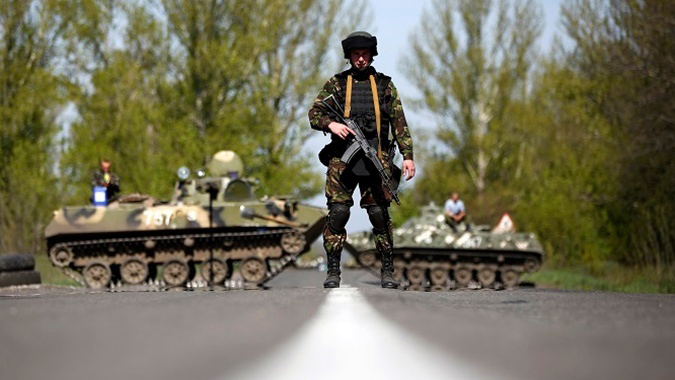 Боевики ссамого начала суток 22 раза обстреляли позиции сил АТО