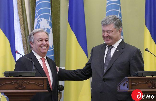 Украина заключила сООН соглашение одотациях нареформы