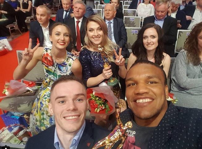 Гимнаст Верняев ифехтовальщица Харлан названы лучшими нацеремонии «Герои спортивного года»