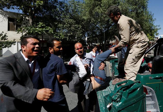 ВАфганистане около посольства Германии произошел мощнейший взрыв