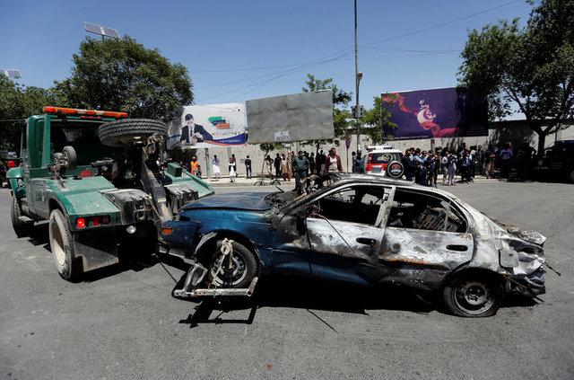 Терористи з ІД взяли насебе відповідальність затеракт уКабулі