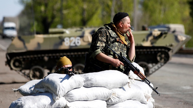 Вражеский снайпер из завоеванной Горловки обстрелял контрольный пост «Майорск»