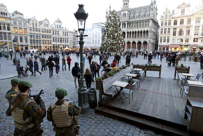 Новорічні святкування скасували уБрюсселі