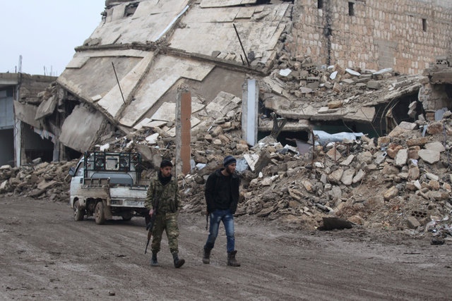 Столкновения под Дамаском ивпровинции Хама— Перемирие вСирии