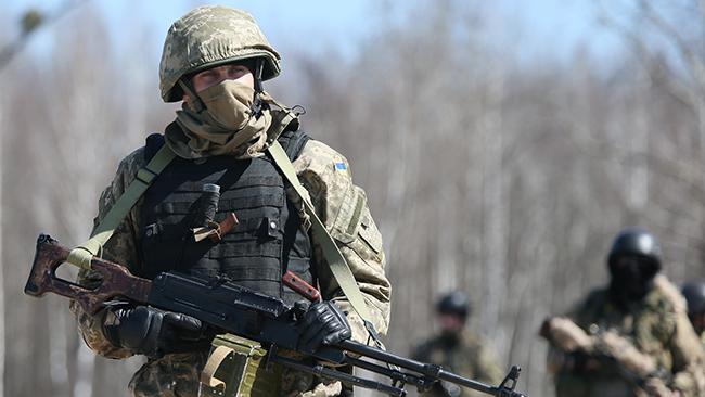 Задень позиции ВСУ взоне АТО обстреляли 3 раза— штаб