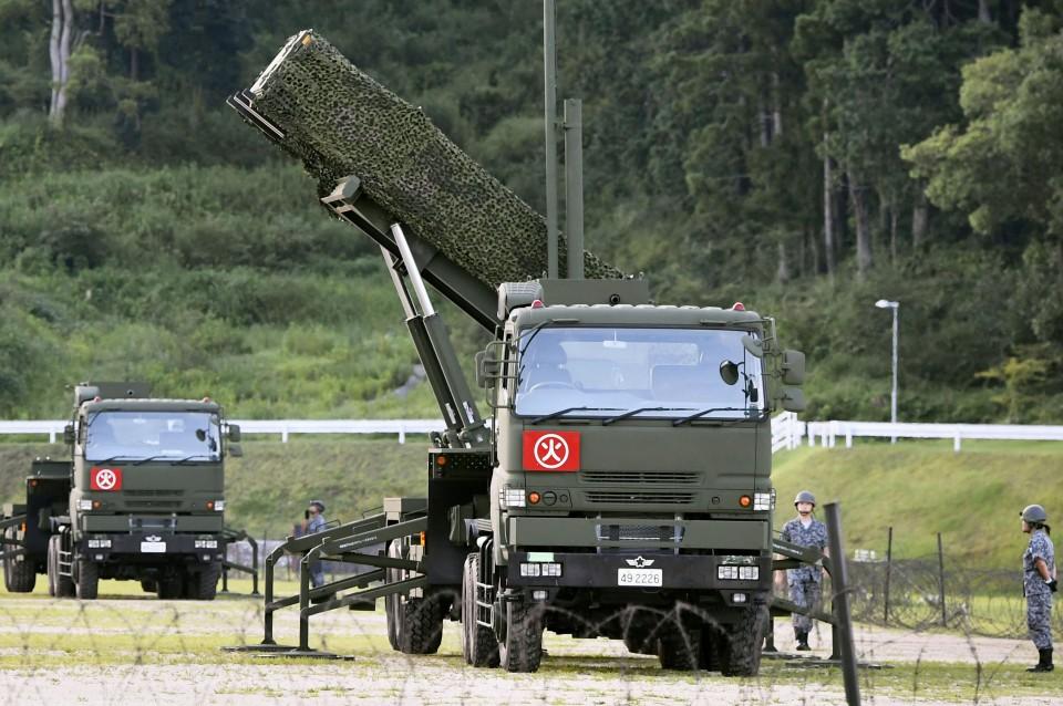 Японія розмістила перехоплювачі ракет назаході країни