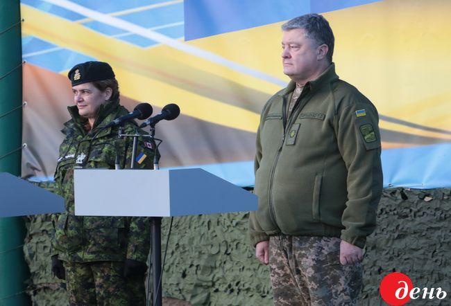 Канадські інструктори навчатимуть українських військових до2019 року