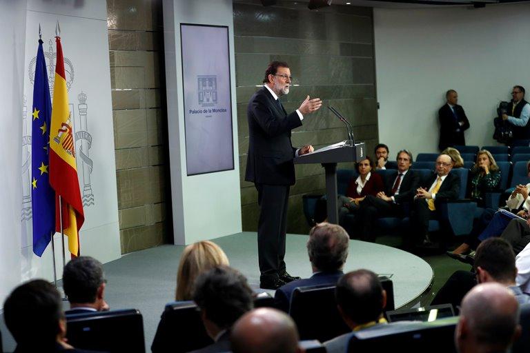 Власти Испании сообщили онамерении распустить руководство Каталонии