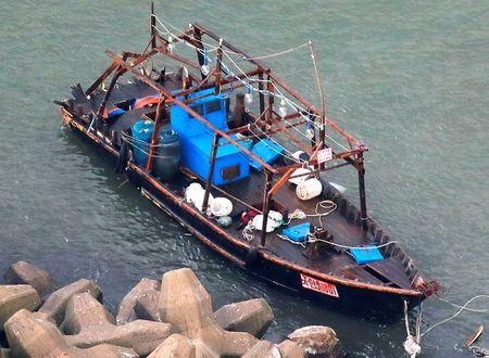 ВЯпонії доберега прибило судно зі скелетами наборту